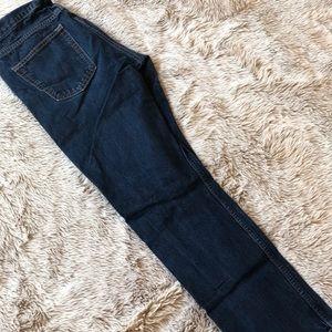 Men's Straight Leg Blue Jeans 33x32